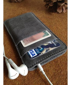 Leather iPhone 5 Wallet
